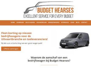 Bedrijfswagen aanschaffen via Budget Hearses